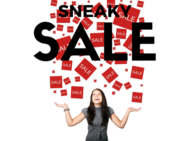 Sneaky Sale