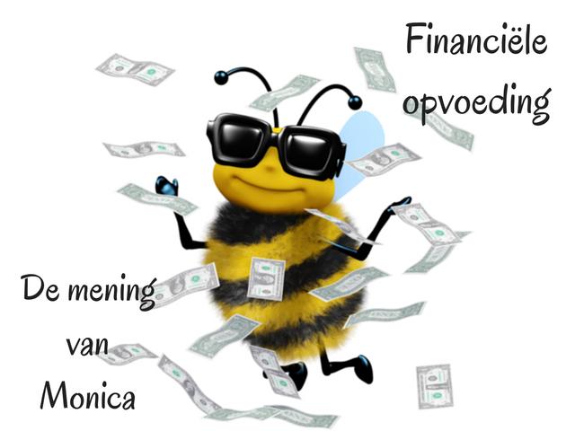 Financiële opvoeding – De mening van Monica