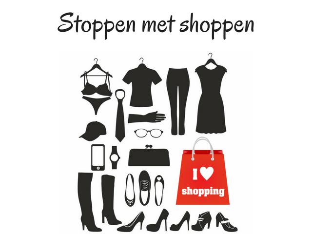 Stoppen met shoppen