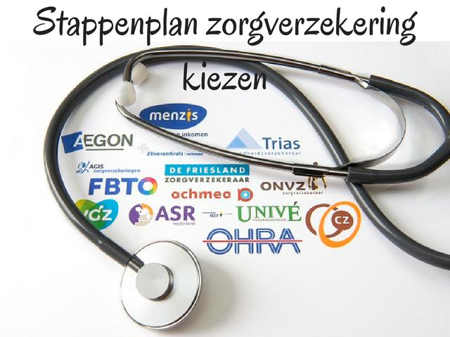 Stappenplan zorgverzekering kiezen