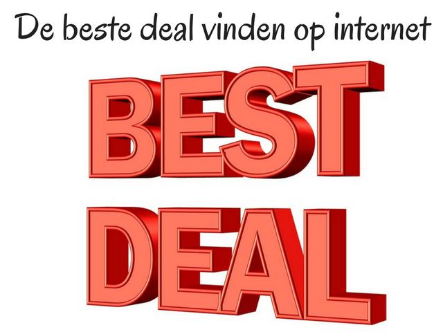 De beste deal vinden op internet