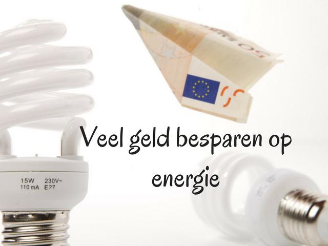 Veel geld besparen op energie