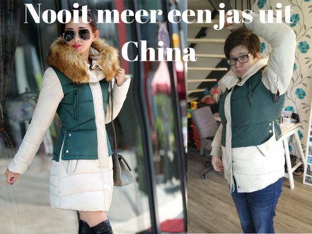 Nooit meer een jas uit China