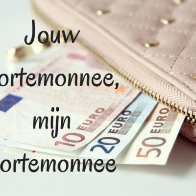 Jouw portemonnee, mijn portemonnee